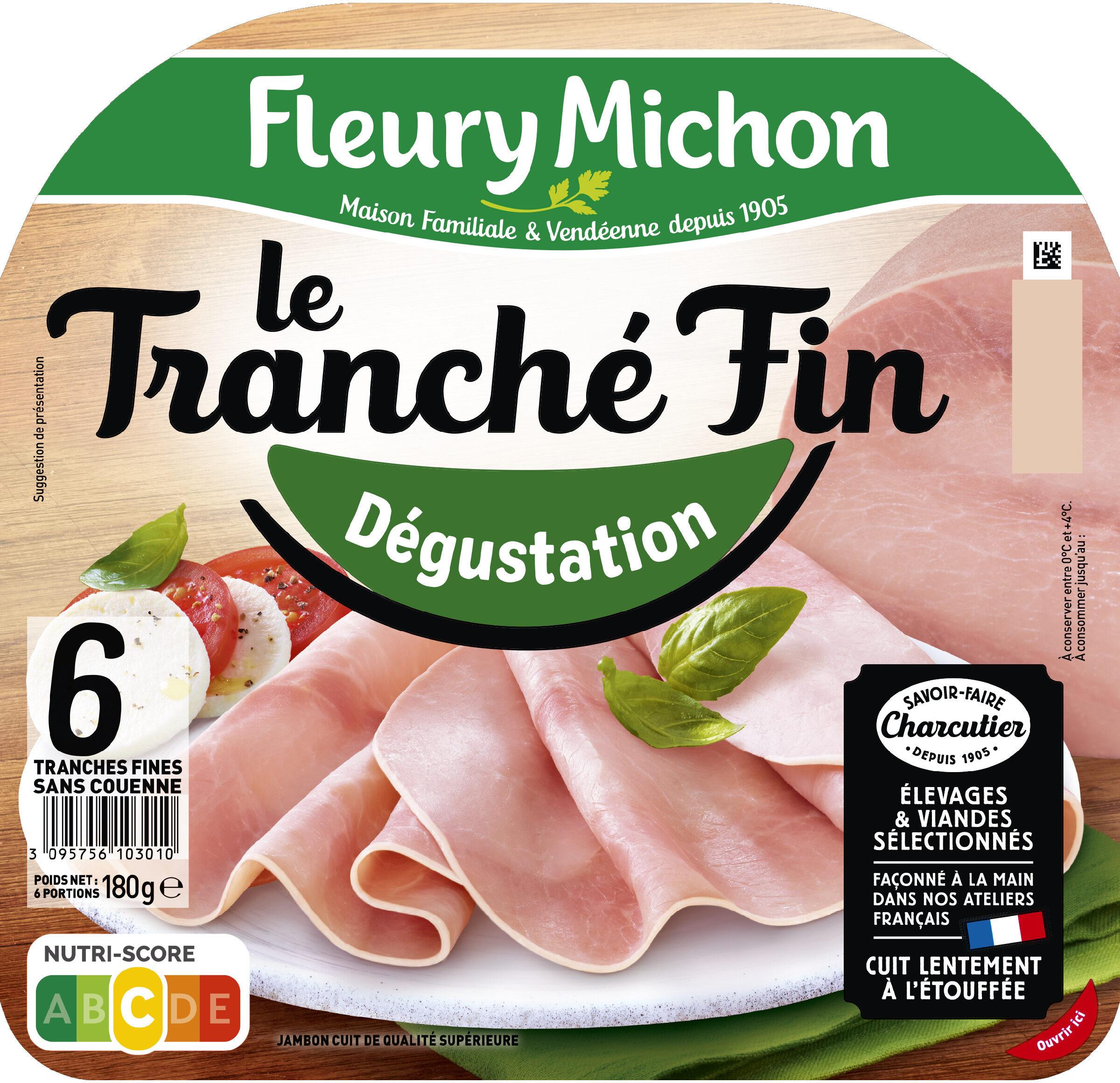 Le tranché fin Dégustation - 6tr. - Produit - fr