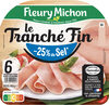 Le Tranché Fin - Dégustation - 25% de sel* - Prodotto