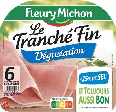 Le tranché fin à l'Italienne - -25% SEL - 6 tranches - Produit - fr