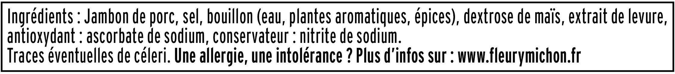 Le Tranché Fin - Dégustation - 25% de sel* - Ingrédients - fr