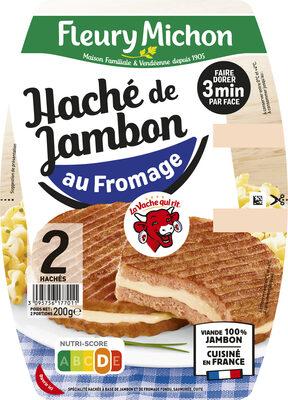 Le haché jambon au fromage la vache qui rit® - 2 pièces - Produit - fr