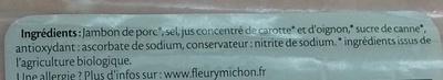 Le Supérieur Bio Torchon - Ingrediënten - fr