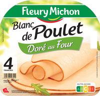 Blanc de poulet doré au four - 4 tr - Produit - fr