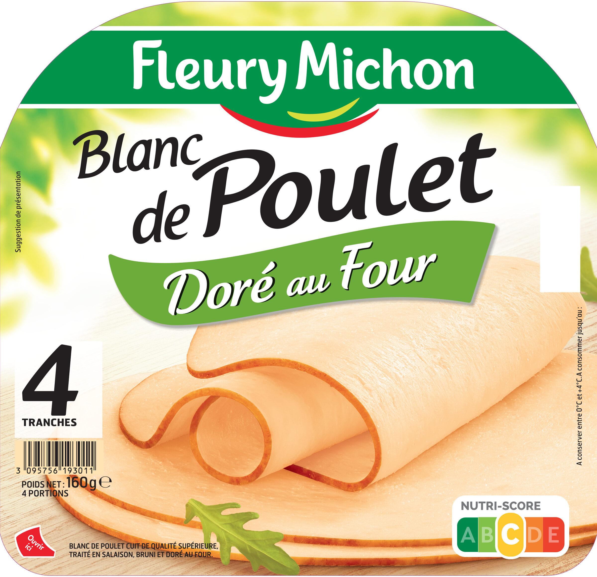 Blanc de poulet doré au four - 4 tr - Product - fr