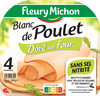 Blanc de Poulet Doré au Four - 4 tr. - Produit