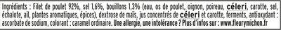 Blanc de poulet doré au four - 4 tr - Ingrédients - fr