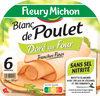 Blanc de Poulet Doré au four - 6 tranches fines - Product