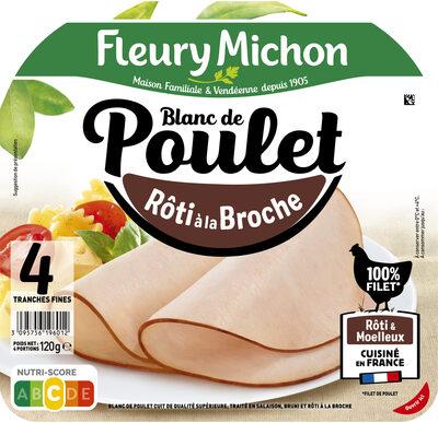 Blanc de Poulet - Rôti à la Broche - Produit - fr