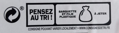 Blanc de Poulet - Rôti à la Broche - Instruction de recyclage et/ou informations d'emballage - fr