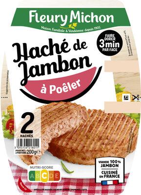 Le haché de jambon à poêler  - 2 pièces - Prodotto - fr
