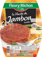 Le haché de jambon à poêler  - 2 pièces - Product