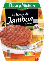 Le haché de jambon à poêler  - 2 pièces - Product - fr