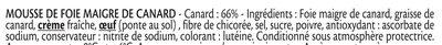 Fleuron de Canard - Ingredienti - fr