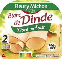 Blanc de dinde doré au four - Product - fr
