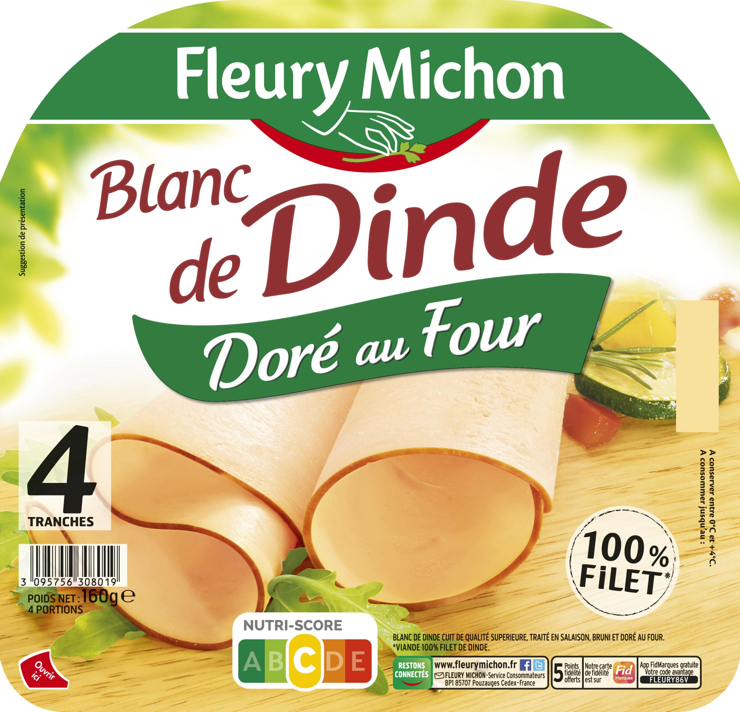 Blanc de Dinde Doré au four - 4tr. - Product - fr
