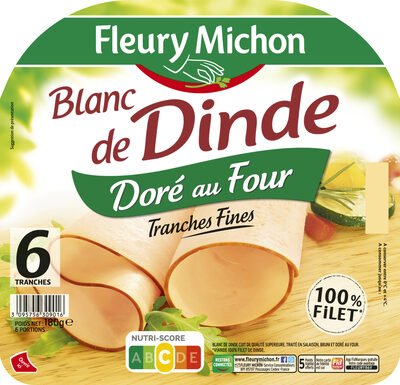 Blanc de dinde Doré au four - Продукт