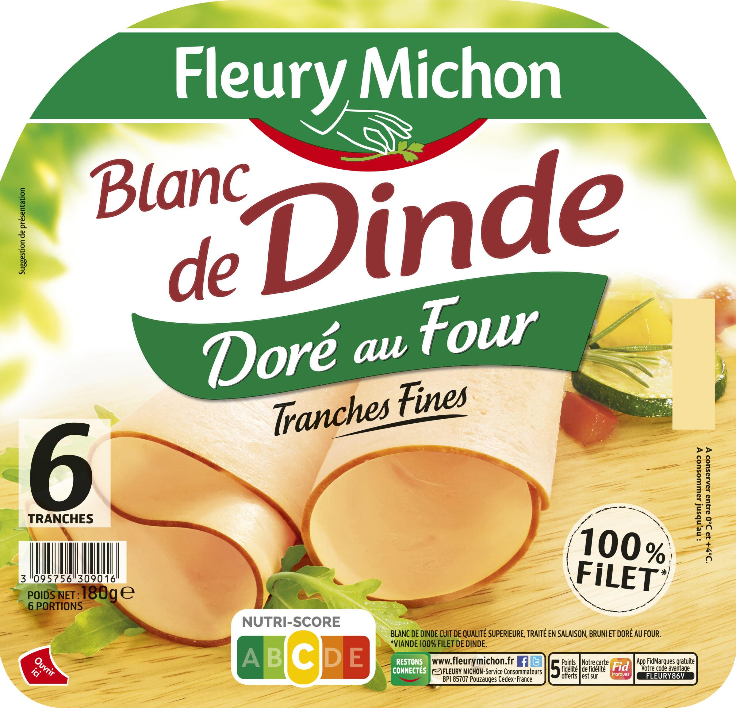 Blanc de dinde Doré au four - Продукт - fr