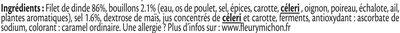 Blanc de dinde Doré au four - Ingrédients - fr