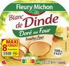 Blanc de Dinde Doré au four - 8tr. - Produit