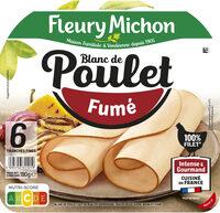 Blanc de poulet fumé - 6 tranches fines - Prodotto - fr