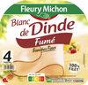 Blanc de dinde fumé - 4 tranches fines - Product