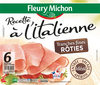 Recette à l'Italienne tranches fines rôties - 6 tranches fines - Product