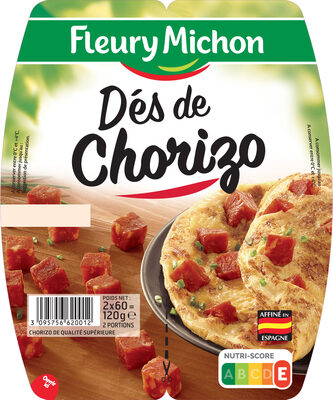 Dés de chorizo - Produit - fr