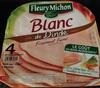 Blanc de dinde ( 4 tranches) - Product