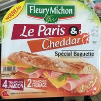 Le Paris & Cheddar spécial Baguette - Produit