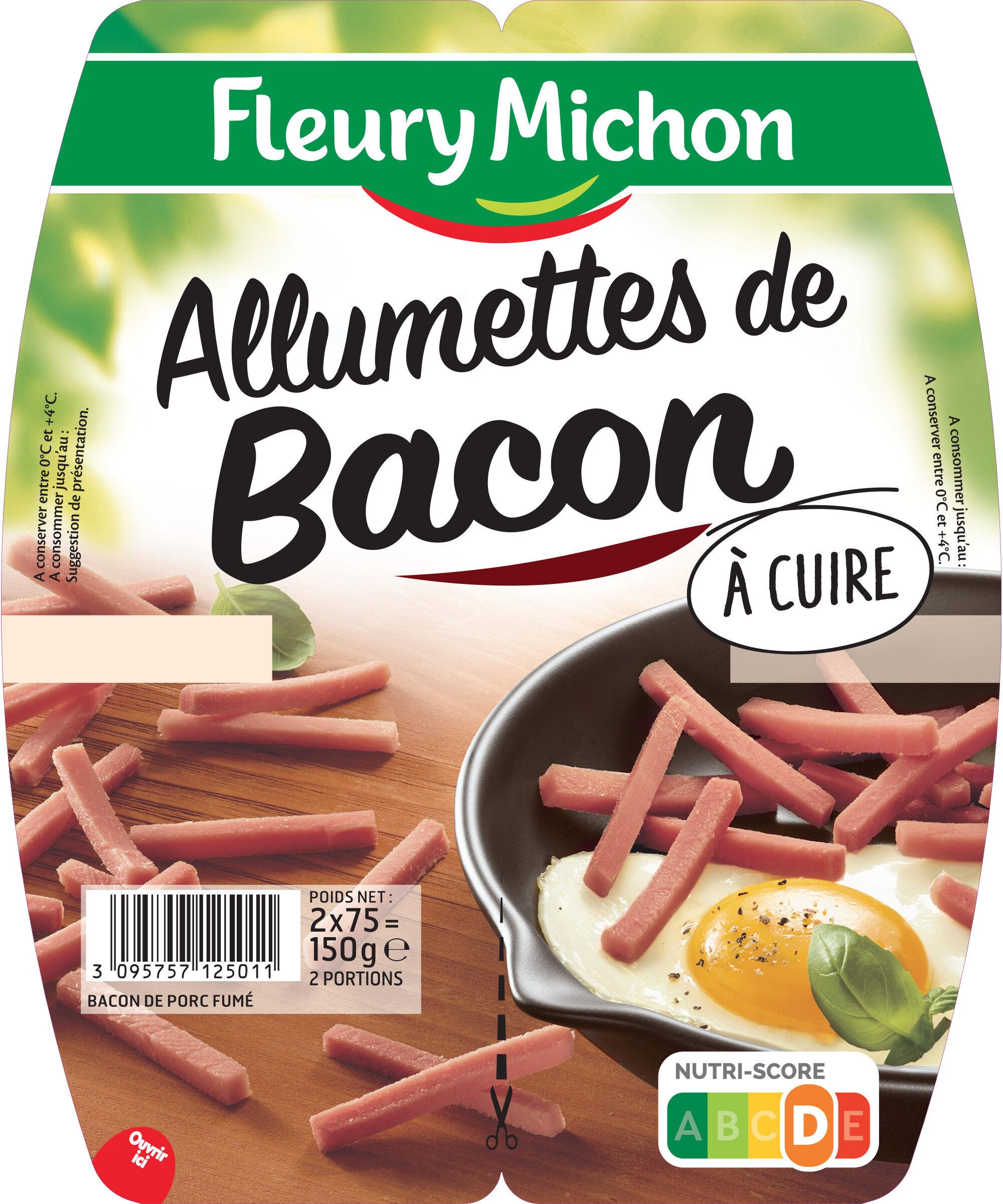 Allumettes de bacon - 2x75 g. - Produit - fr