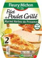 Filet de poulet grillé mariné herbes de Provence - Produit - fr
