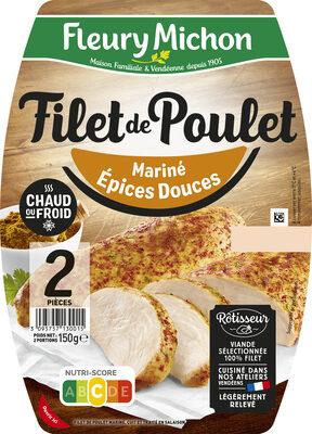 Filet de poulet grillé mariné aux épices douces - Prodotto - fr