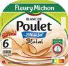Blanc de Poulet  Halal - 25% de sel*  - 6 tranches fines - Produit