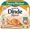 Blanc de dinde Halal - 6 tranches fines - Produit
