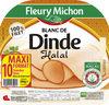 Blanc de dinde Halal - 10tr. - Produit