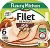 Filet de poulet rôti Halal - 6 tranches épaisses - Produit