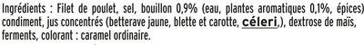 Filet de poulet rôti Halal - 6 tranches épaisses - Ingredients - fr