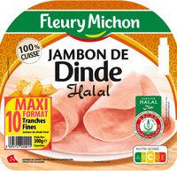Jambon de dinde Halal - 10 tr. - Prodotto - fr
