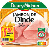 Jambon de dinde Halal - 10 tr. - Produit - fr