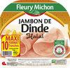 Jambon de dinde Halal - 10 tr. - Produit