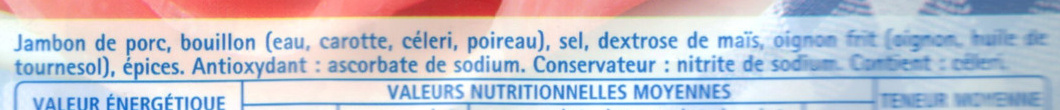 Le Tranché Fin Torchon (-25% de sel) - Ingredients