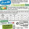 Le supérieur cuit à l'étouffée - tranches fines - 25% de sel* - 8 tranches - Product