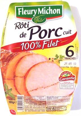 Rôti de Porc cuit 100% Filet - Produit - fr