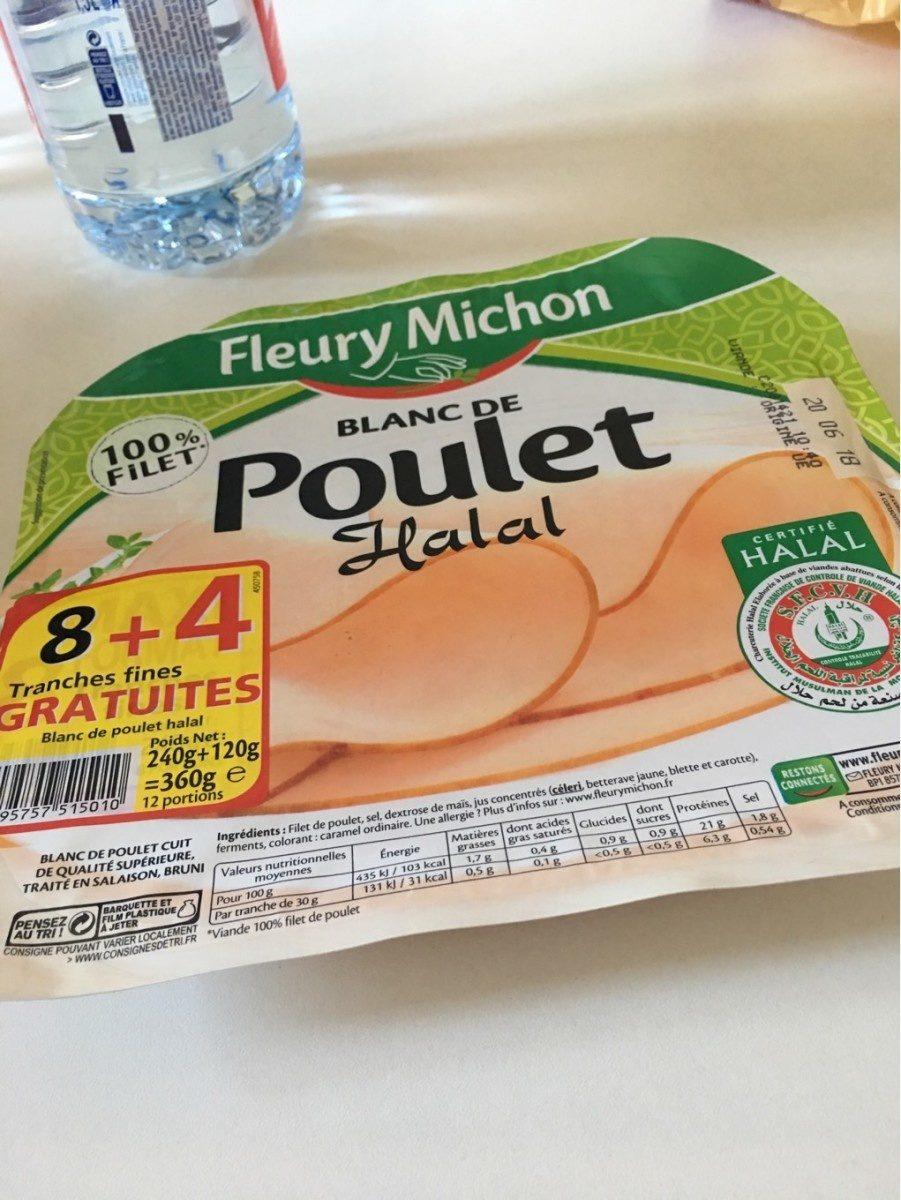 Blanc de Poulet Halal - Prodotto - fr
