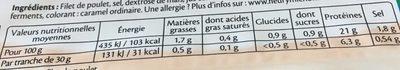 Blanc de Poulet Halal - Valori nutrizionali - fr