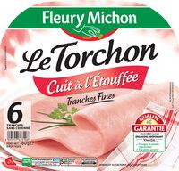 Le torchon cuit à l'étouffée tranches fines - 6 tranches fines - Product