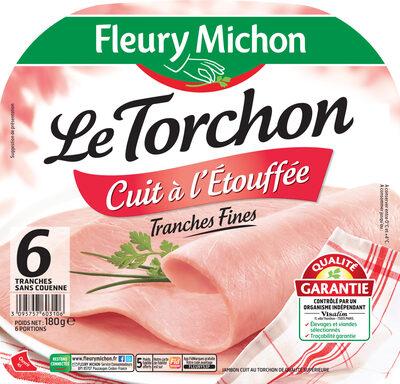 Le torchon cuit à l'étouffée tranches fines - 6 tranches fines - Produit - fr