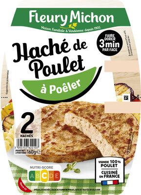 Le Haché de Poulet - à Poêler - Produit - fr