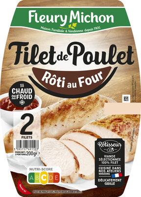 Filet de Poulet - Rôti au Four - Prodotto - fr