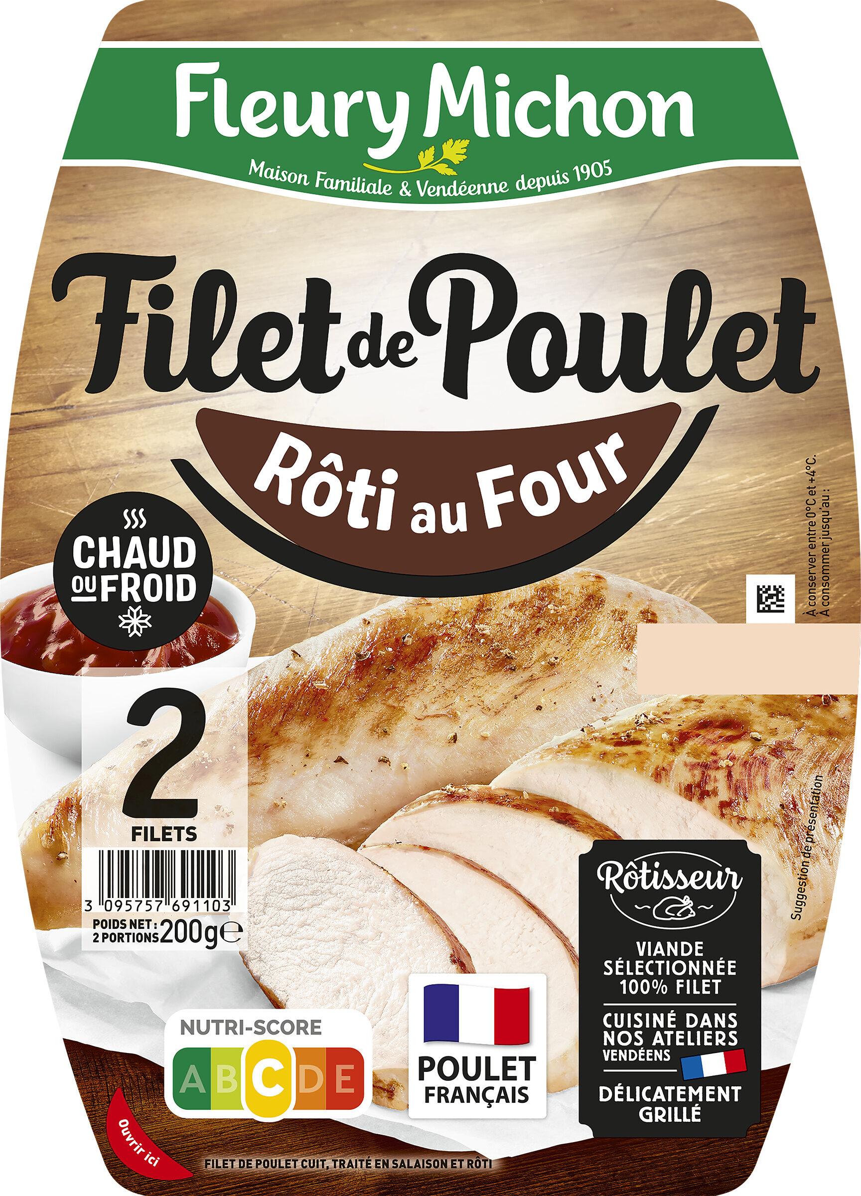 Filet de poulet rôti au four - Prodotto - fr